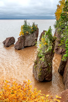 3. High Tide at Hopewell Rocks in the Bay of Fundy, New Brunswick