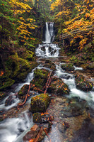 11. Dickson Falls in Fundy National Park, New Brunswick