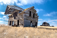 13. Farmhouse near Enchant, Alberta