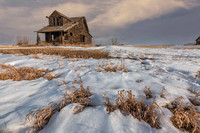 10. Farmhouse near Hanna, Alberta