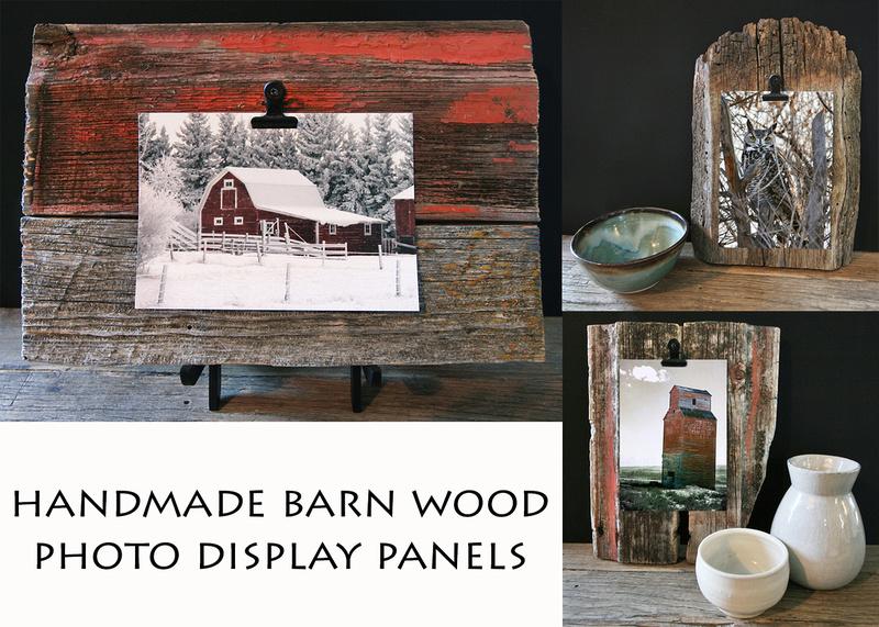 Barn Wood Photo Display
